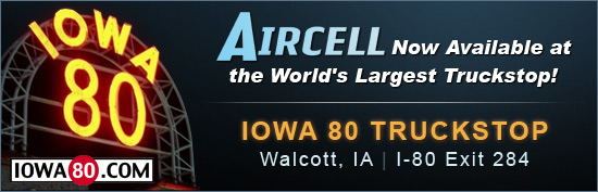 Aircell Available at Iowa 80